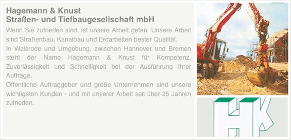 Hagemann & Knust Straßen- u. Tiefbau GmbH