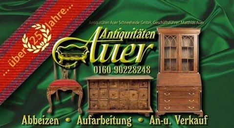 Antiquitäten Auer Schneeheide GmbH