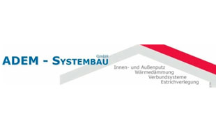 Logo von Adem Systembau GmbH Putzarbeiten Abdichtarbeiten Wärmedämmung Trockenbau Estricharbeiten