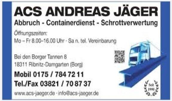 Abbruch Containerdienst Schrottverwertung