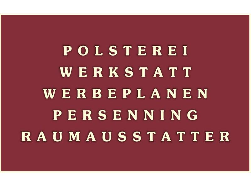Polsterwerkstatt Mercel Rößner