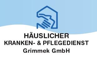 Logo von Pflegedienst - Häuslicher Kranken- u. Pflegedienst Grimmek