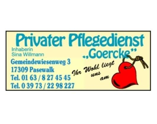 Privater Pflegedienst Goerke