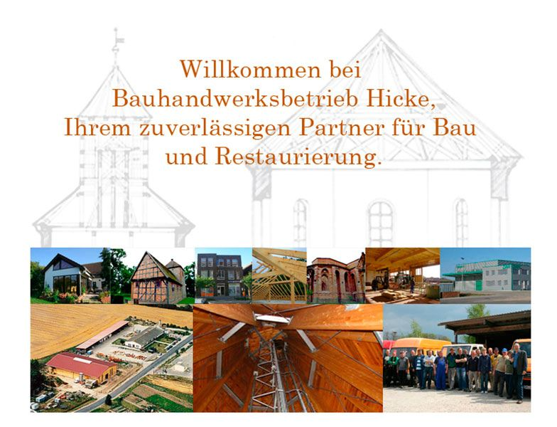 Bauhandwerksbetrieb Wolfgang Hicke