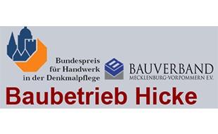 Bild zu Bauhandwerksbetrieb Wolfgang Hicke Hoch- und Tiefbau in Borrentin