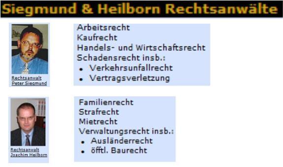 Siegmund & Heilborn