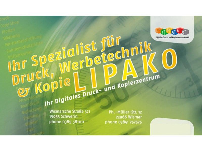 Lipako Digitales Druck- und Kopierzentrum GmbH