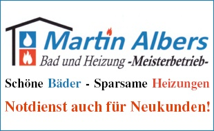 Albers Martin Bad und Heizung - Meisterbetrieb