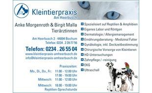 Bild zu Am Heerbusch - Tierarztpraxis Morgenroth Anke, Tierärztin in Bochum