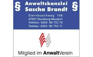 Anwalt Brandt Sascha
